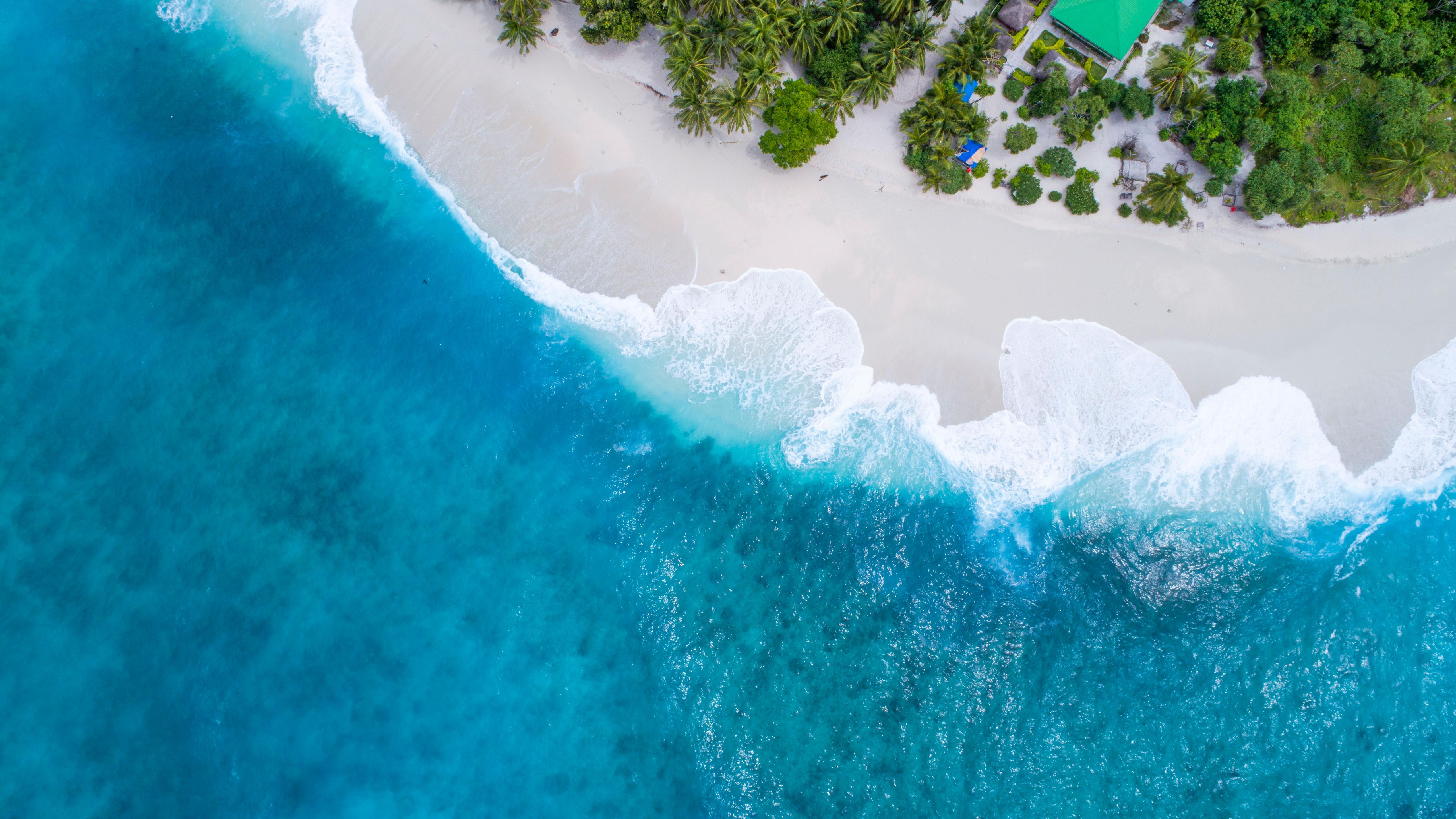 马尔代夫海岛风景图片桌面壁纸