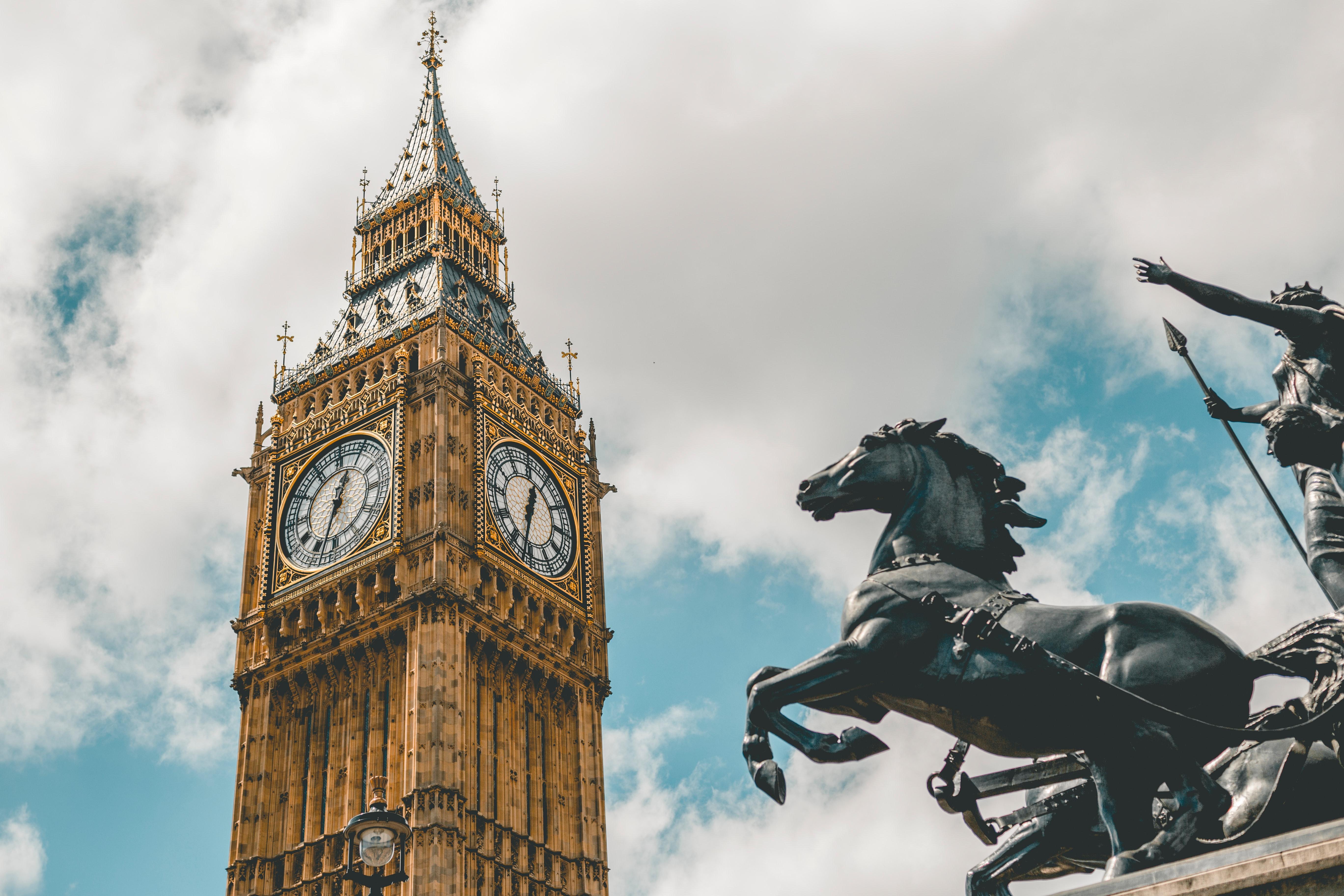 英国伦敦大本钟图片桌面壁纸